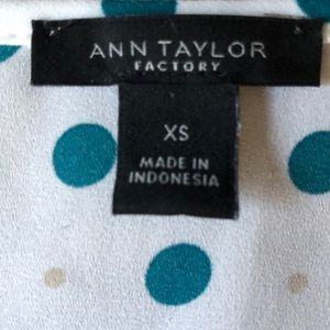 Ann Taylor Factory Tops - Blouse by Ann Taylor Factory, Size XS